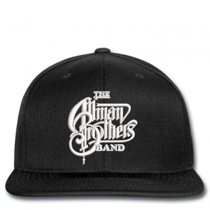 The Allman Brothers Embroidered Hat Snapback Designed By Madhatter