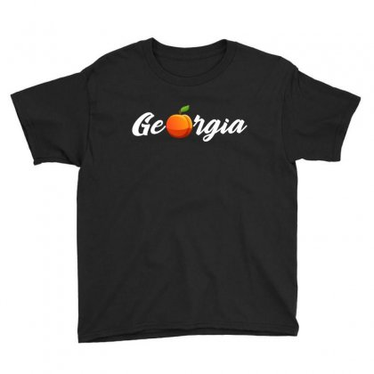 Georgia. Peach State. Youth Tee Designed By Omer Acar