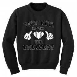 this girl brewers Youth Sweatshirt | Artistshot