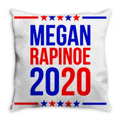 Megan Rapinoe Marchandise Throw Pillow Designed By Willo