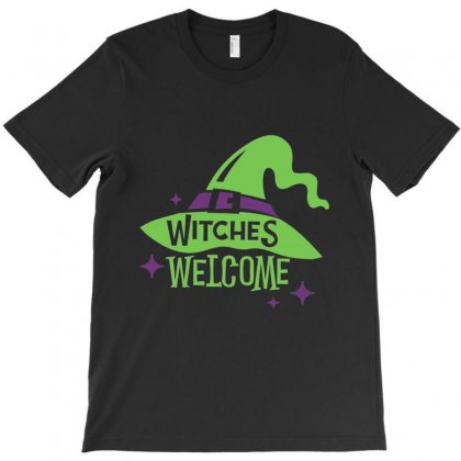 Halloween Witches T-shirt Designed By Kakashop