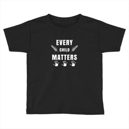Every Child Matters For Dark Toddler T-shirt Designed By Sengul