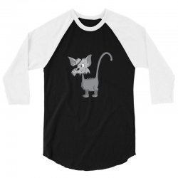 pirate cat 3/4 Sleeve Shirt | Artistshot