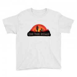 summer on the road Youth Tee | Artistshot