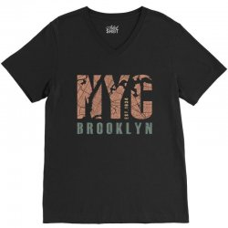 brooklyn 1634 V-Neck Tee | Artistshot