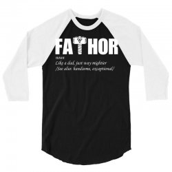 fathor  art 3/4 Sleeve Shirt | Artistshot