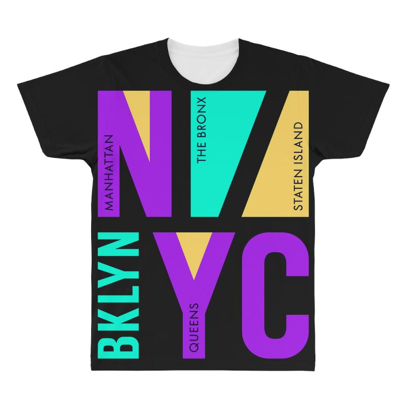 Nyc Usa Bronx All Over Men's T-shirt | Artistshot