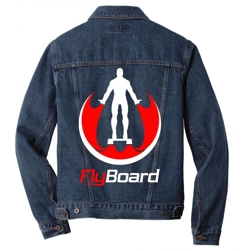 Fly Board Men Denim Jacket | Artistshot