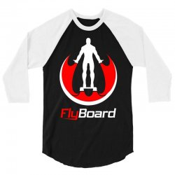 fly board 3/4 Sleeve Shirt | Artistshot