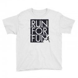 run for fun sports Youth Tee | Artistshot