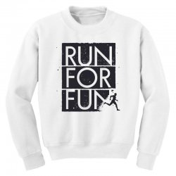 run for fun sports Youth Sweatshirt | Artistshot