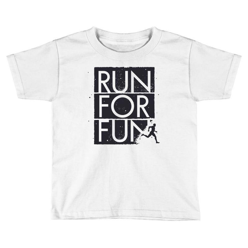 Run For Fun Sports Toddler T-shirt | Artistshot