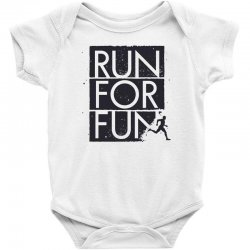 run for fun sports Baby Bodysuit | Artistshot