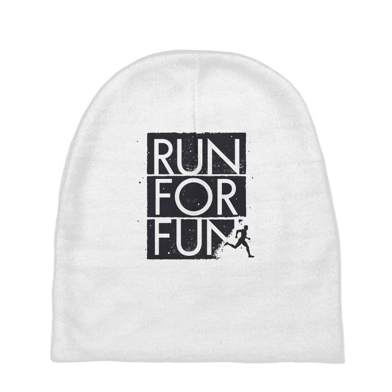 Run For Fun Sports Baby Beanies | Artistshot