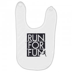 run for fun sports Baby Bibs | Artistshot
