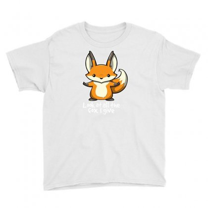 Fox Youth Tee Designed By Shadowart