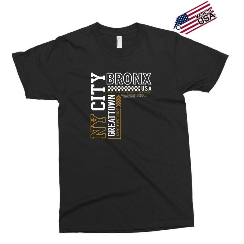 Ny City Bronx Street Sport Exclusive T-shirt | Artistshot