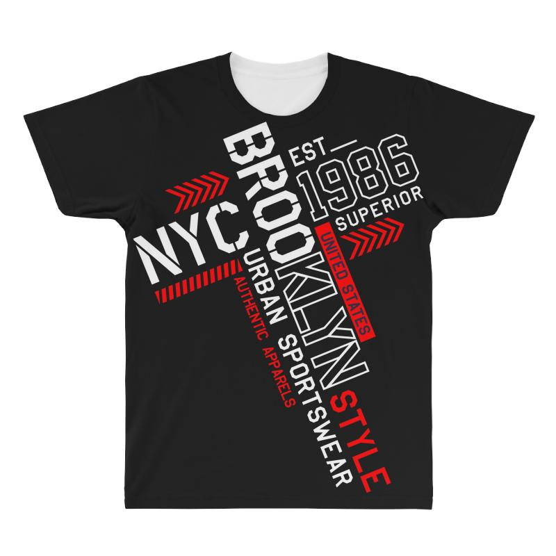 Nyc Urban Sportswear All Over Men's T-shirt | Artistshot