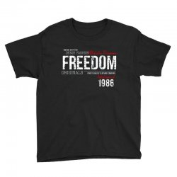 freedom athletic division Youth Tee | Artistshot