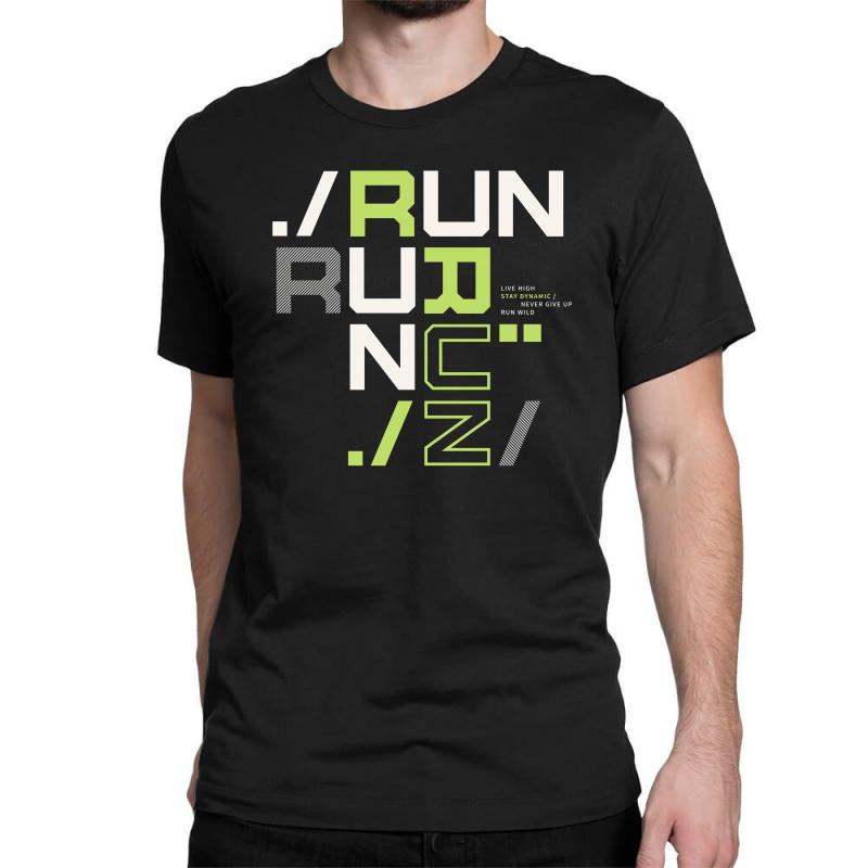 Sports Run Classic T-shirt | Artistshot