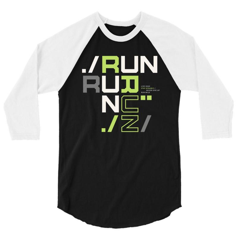Sports Run 3/4 Sleeve Shirt | Artistshot
