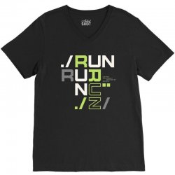 sports run V-Neck Tee | Artistshot