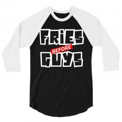 fries before guys 3/4 Sleeve Shirt | Artistshot