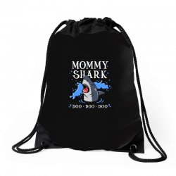 mommy shark Drawstring Bags | Artistshot