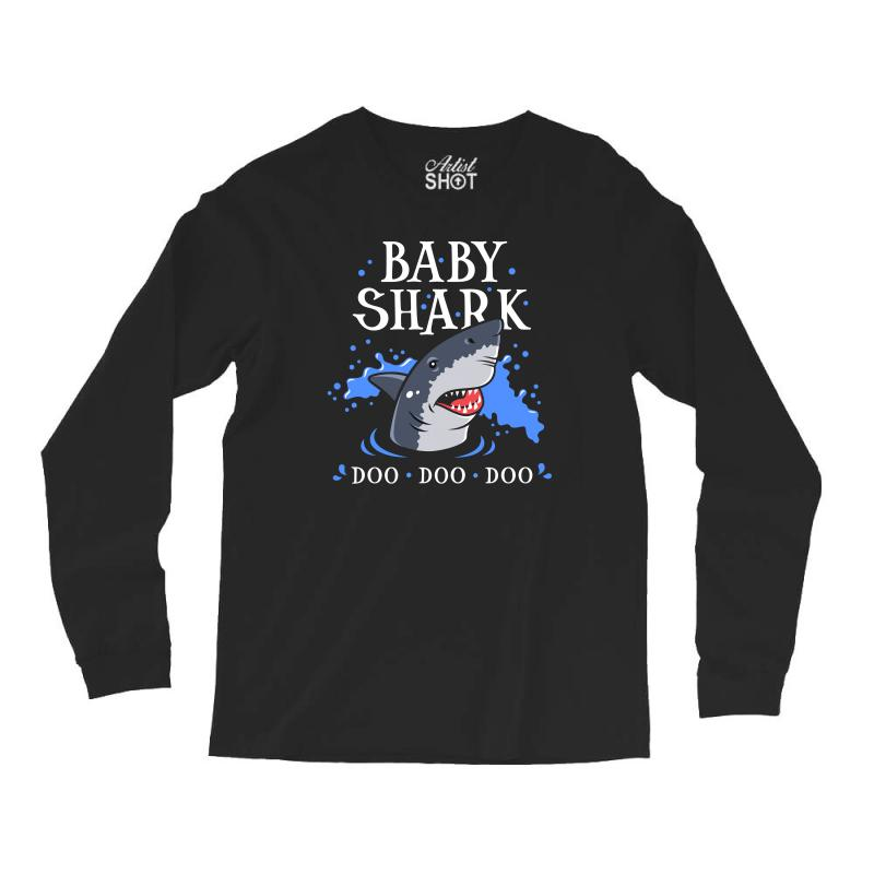 Baby Shark Long Sleeve Shirts | Artistshot