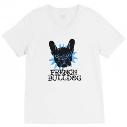 french bulldog V-Neck Tee | Artistshot