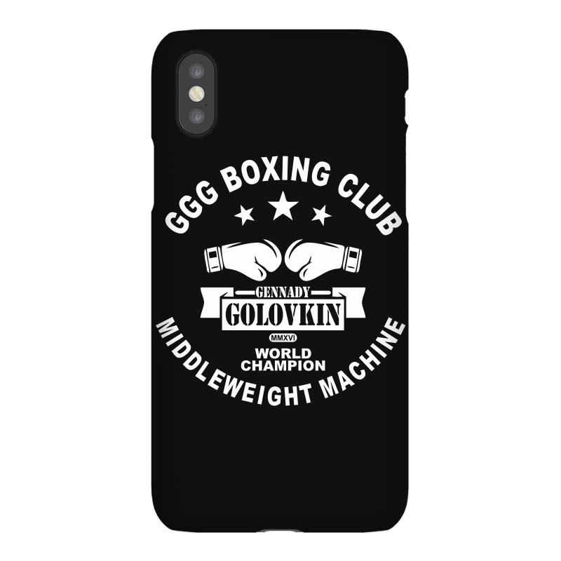 Ggg Boxing Club Iphonex Case | Artistshot