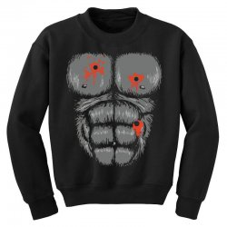 gorilla halloween Youth Sweatshirt | Artistshot