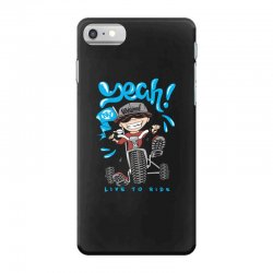 funny biker iPhone 7 Case | Artistshot