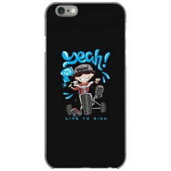 funny biker iPhone 6/6s Case | Artistshot