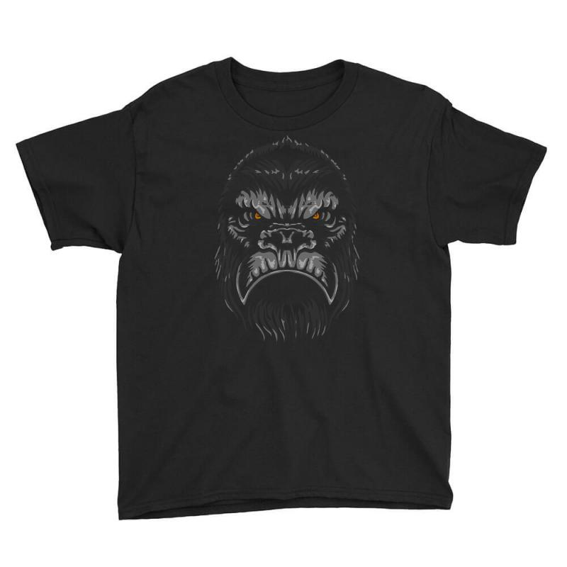 Gorilla T Shirt Youth Tee | Artistshot
