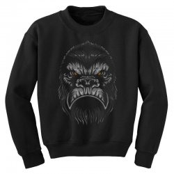 gorilla t shirt Youth Sweatshirt | Artistshot