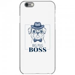 big pug boss iPhone 6/6s Case | Artistshot