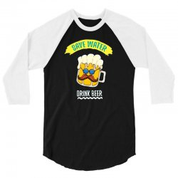 drink funny now 3/4 Sleeve Shirt | Artistshot