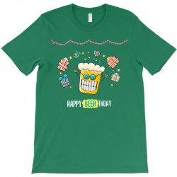 happy beer thday T-Shirt | Artistshot