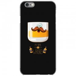 my name is whiskey iPhone 6/6s Case | Artistshot