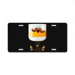 my name is whiskey License Plate | Artistshot