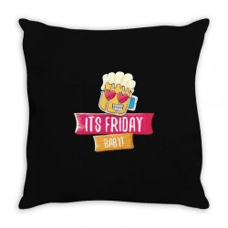 its friday baby Throw Pillow | Artistshot