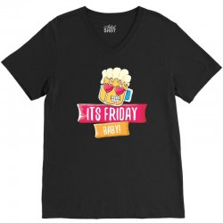 its friday baby V-Neck Tee | Artistshot