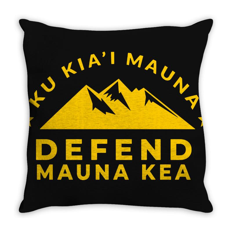Mauna Kea Throw Pillow | Artistshot