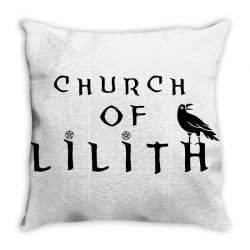 church of lilith merch Throw Pillow | Artistshot