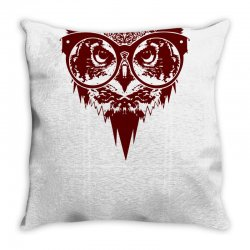 Now You See Mighty Owl Throw Pillow | Artistshot