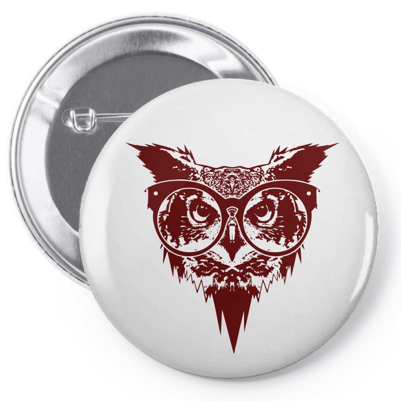 Now You See Mighty Owl Pin-back Button | Artistshot