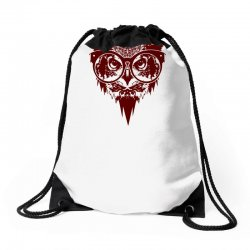 Now You See Mighty Owl Drawstring Bags | Artistshot