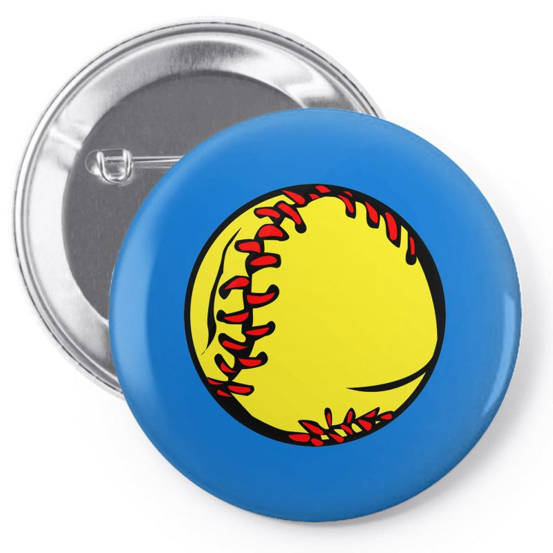People's Republic Of Burlington Softball Pin-back Button | Artistshot