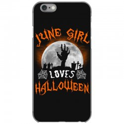 this june girl loves halloween iPhone 6/6s Case | Artistshot